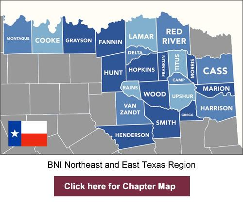 BNI Northeast and East Texas region
